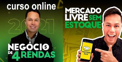 Curso Online Negócio de 4 Rendas 2021 - Viver de E-commerce