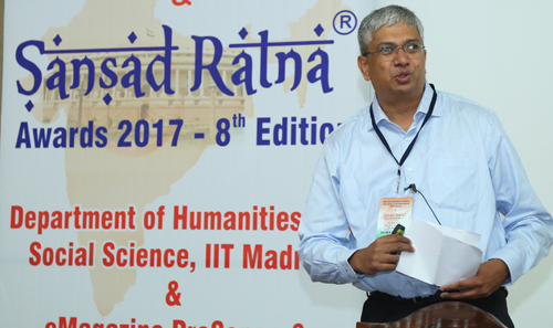 Dr M R Madhavan, President, PRS Legislative Research