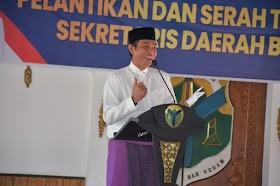 Bupati Batanghari Lantik M. Azan Sebagai Sekretaris Daerah