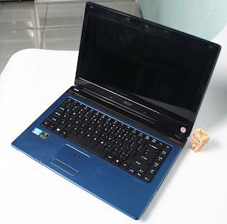 jual laptop gaming bekas acer 4750g