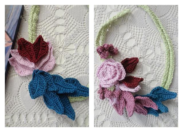 Lotus & Rose Necklace Pattern