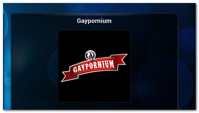 Gaypornium Add-ons For IPTV XBMC-KODI