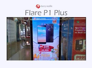 Cherry Mobile Flare P1 Plus – with Dual Rear Camera and Full HD Display