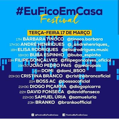 Festival #EuFicoEmCasa