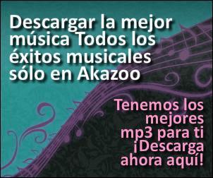 Canciones MP3 para el movil con Akazoo
