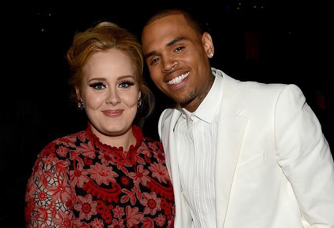 Chris Brown Fez Uma Visita Misteriosa À Casa Da Adele Na Madrugada