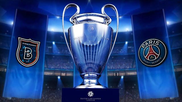 مباراة باريس سان جيرمان وإسطنبول باشاك شهير دوري أبطال أوروبا بث مباشر