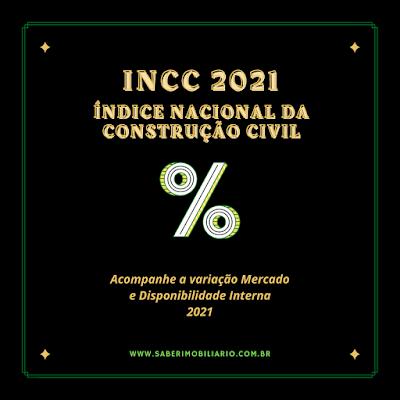 INCC 2021 INDICE MERCADO E DISPONIBILIDADE INTERNA