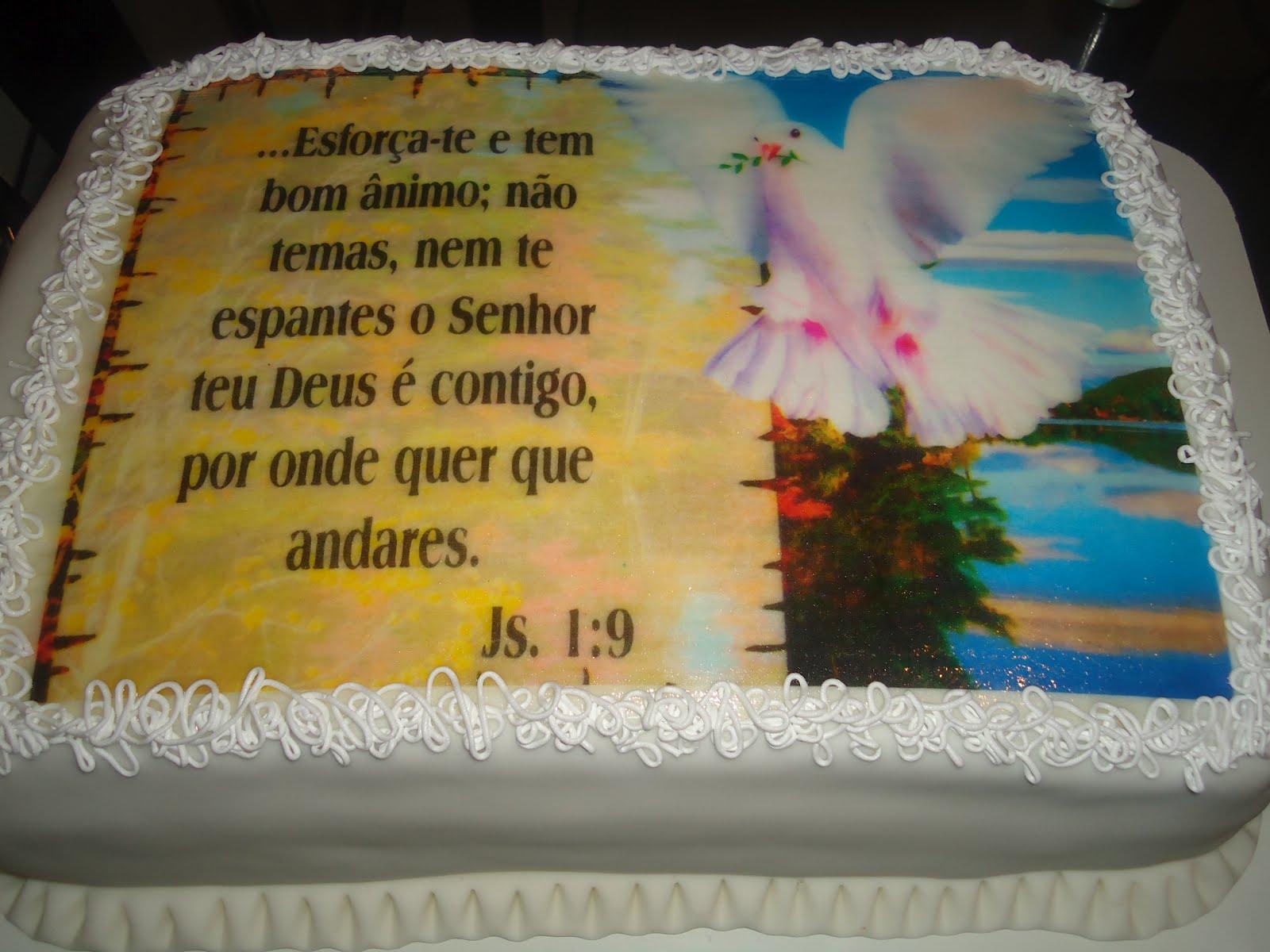 Mensagens Biblicas Para Aniversario: DaVisa Bolo's: BOLO MENSAGEM BÍBLICA