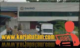 Lowongan Kerja Batam Daiho Indonesia