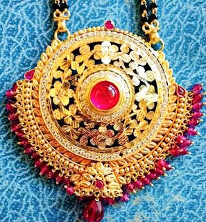 Nice Mangalsutra Chain jewelry design | Fdbnj