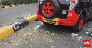Massa Aksi Temukan Peluru Tajam di Dalam Mobil Polisi, Begini Kata Mabes Polri