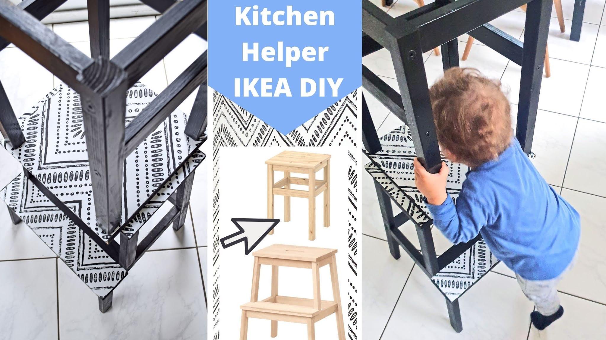 Wieża pomocnicza Montessori DIY