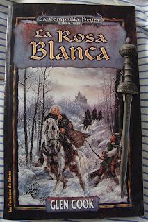 Portada del libro La rosa blanca, de Glen Cook