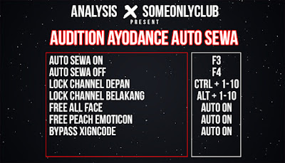Cheat Ayodance Auto Sewa 6172