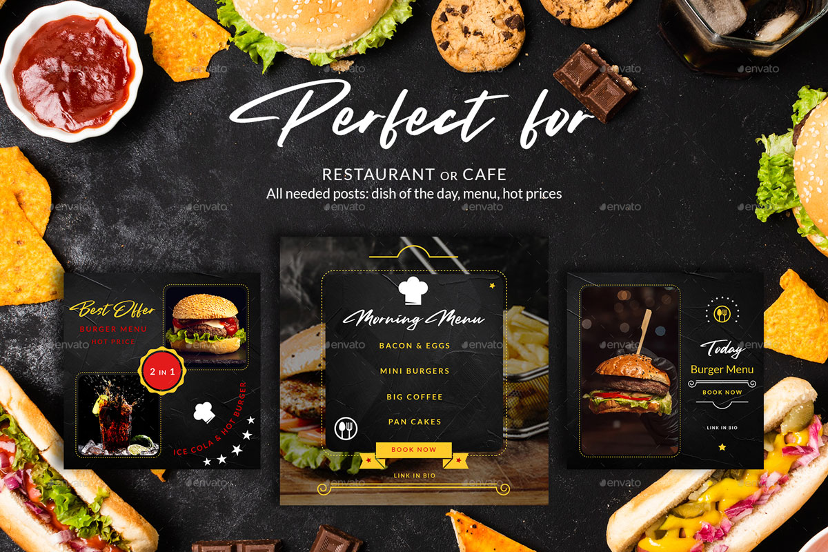 Burger Restaurant Instagram Posts%2526Stories 26312636 .%2B %2BCopy