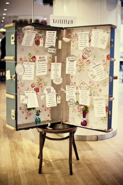 Ideas para seatings de boda diferentes y originales - Foto: www.gatitojerome.com