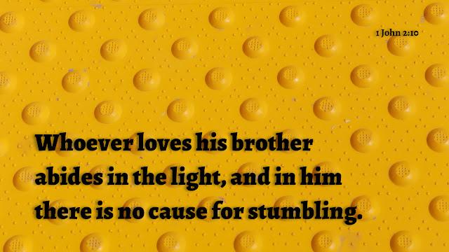 1 John 2:10-11