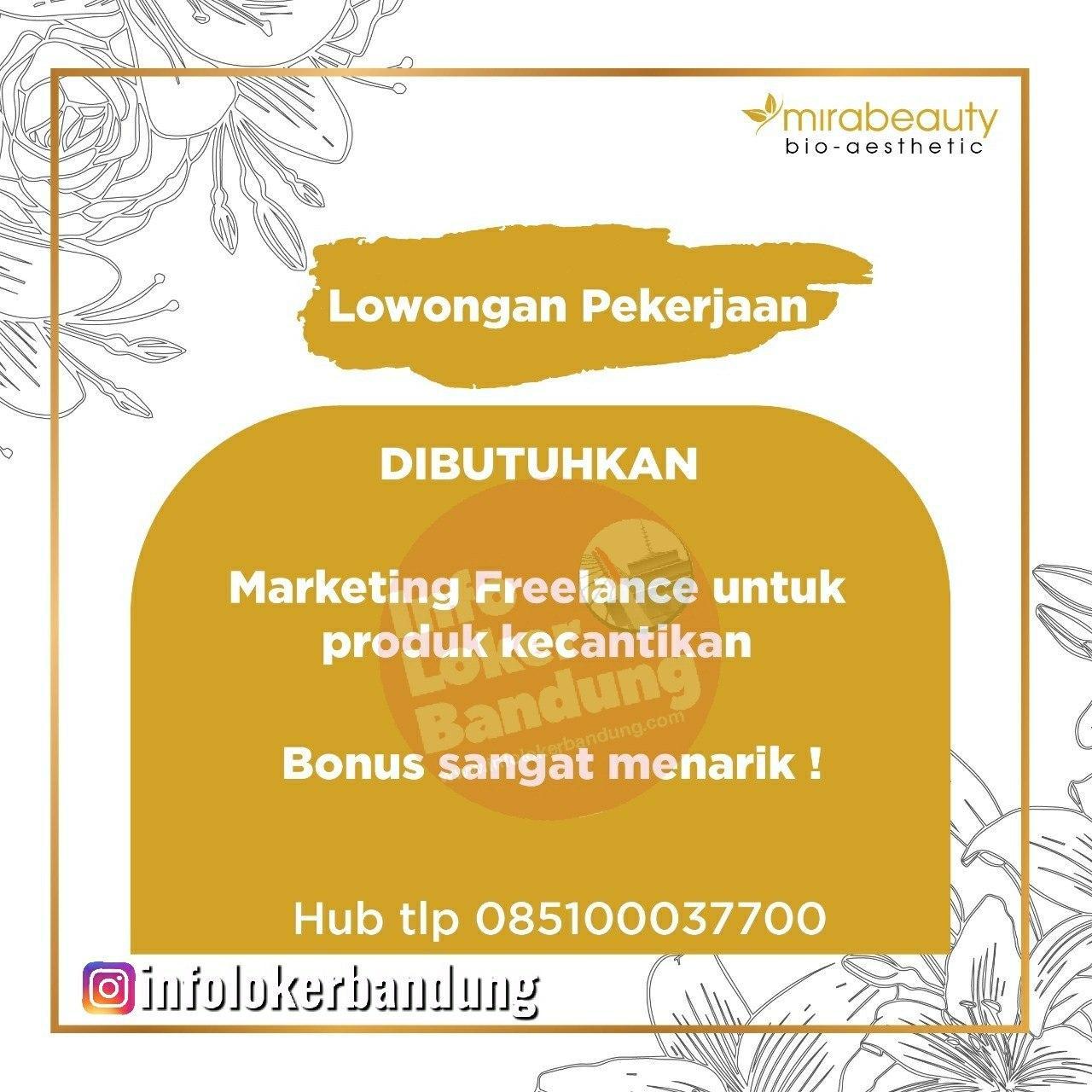 Lowongan Kerja Marketing Freelance Mirabeauty Bandung Januari 2020