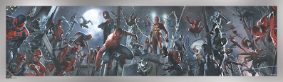 The Amazing Spider-Man #9-14 Foil Variant Print by Gabriele Dell'Otto x Grey Matter Art x Marvel