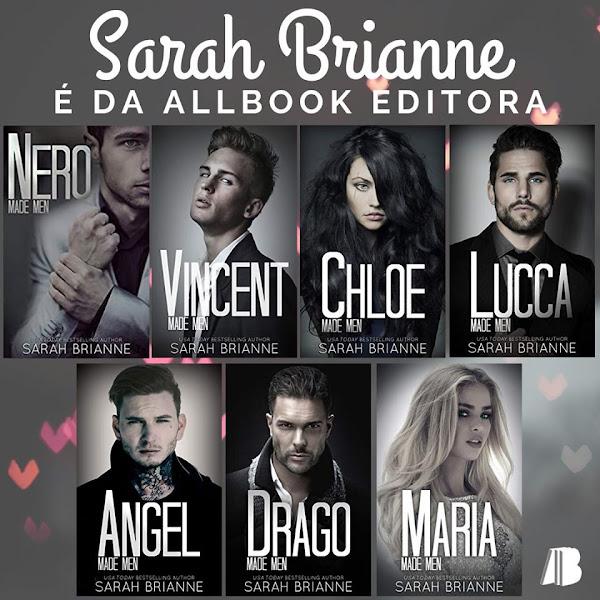 [NOVIDADE] Série Made Men da Sarah Brianne chega ao Brasil pela Allbook Editora.