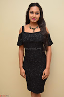 South Actress Amulya in short black dress at Kalamandir Foundation 7th anniversary Celebrations ~  Actress Galleries 028.JPG