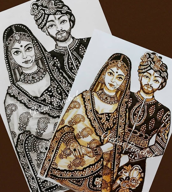 arabic designs for couple