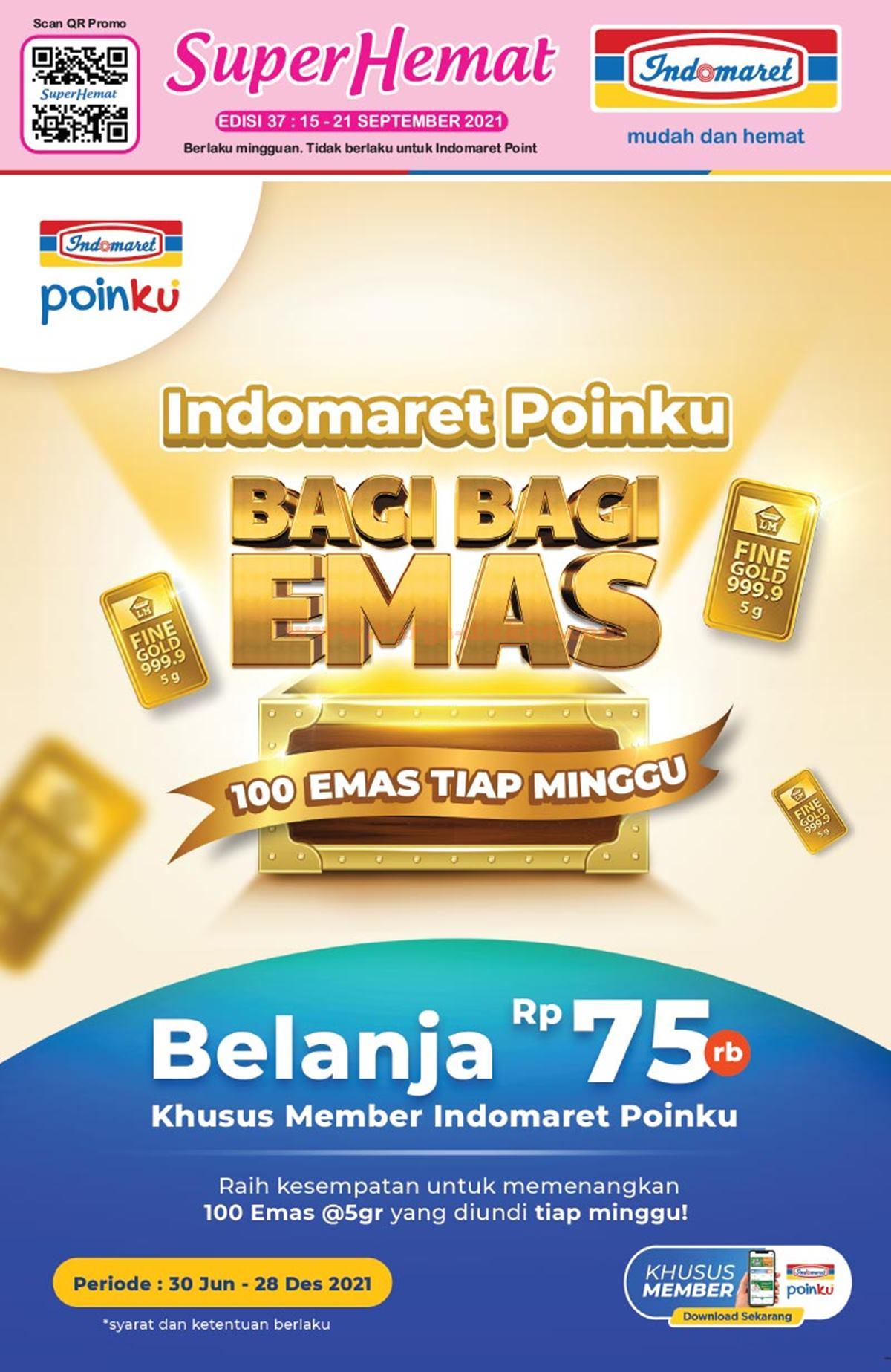 Katalog Promo INDOMARET Terbaru 15 - 21 September 2021