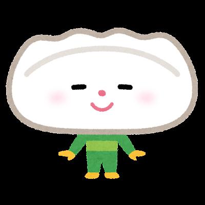 水餃子のキャラクター