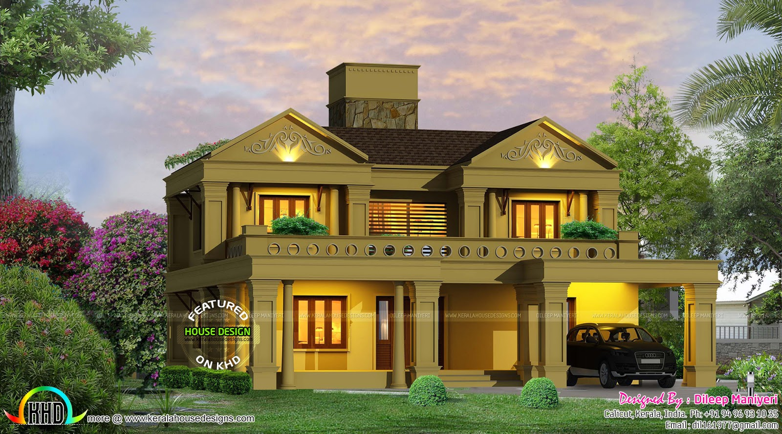 august 2016 kerala home design and floor plans