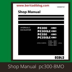 Komatsu Shop Manual pc300-8MO pc300LC-8MO