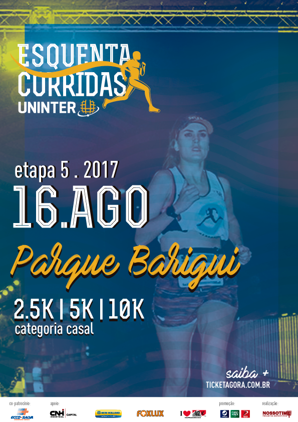 58d7ef9bb ESQUENTA DE CORRIDAS UNINTER - ETAPA 5 - PARQUE BARIGUI