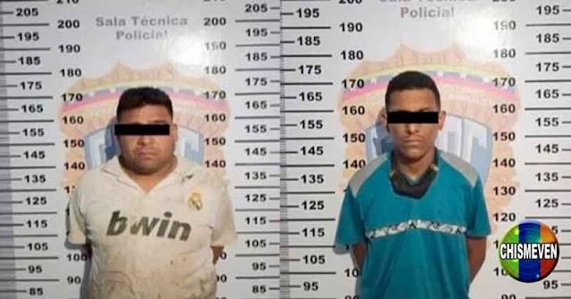 Dos individuos detenidos por traficar 15 panelas de drogas