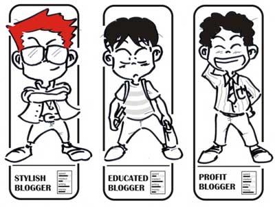 8 Kebiasaan Unik & Lucu yang sering Dilakukan Blogger Pemula
