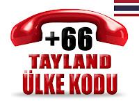 +66 Tayland ülke telefon kodu
