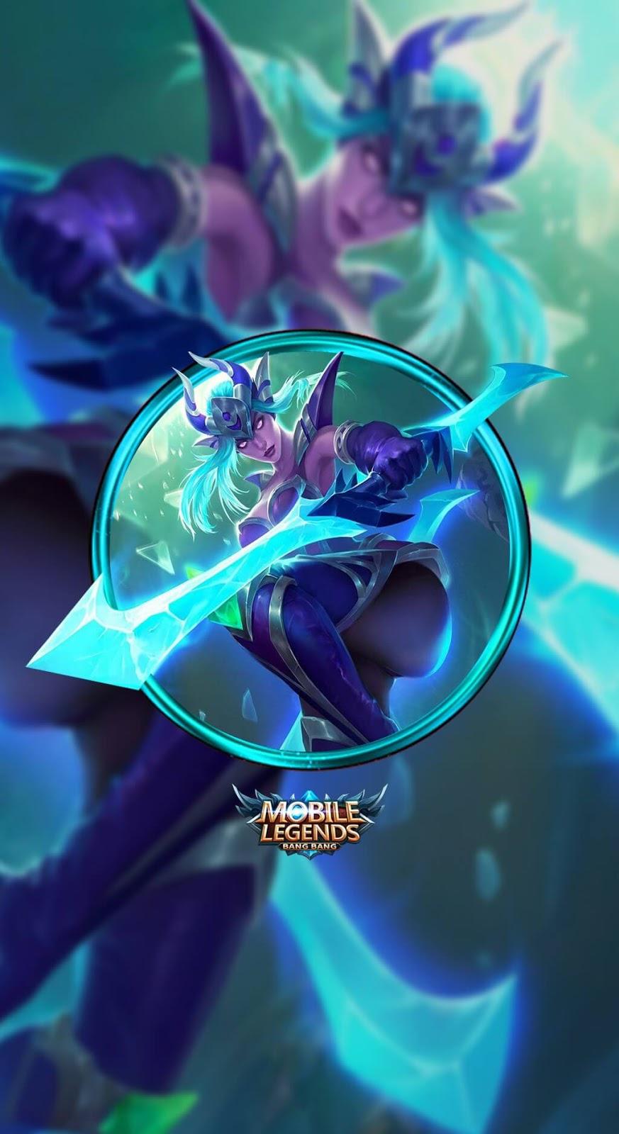 Wallpaper Karina Shadow Blade Skin Mobile Legends HD for Mobile