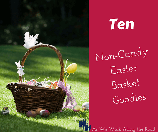 Non-candy Easter Basket goodies