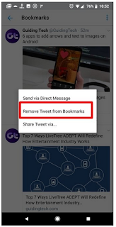 Cara Menggunakan Fitur Bookmark di Twitter / Menggunakan, Melihat, Menghapus  Bookmark, Begini Caranya