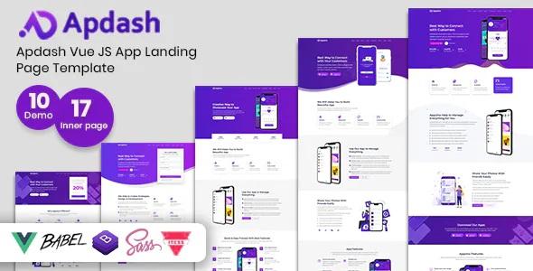 Best App Landing Page Template