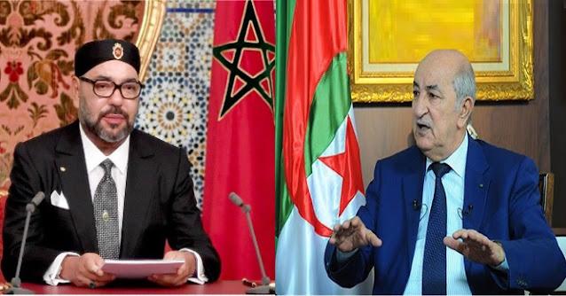 رئيس الجزائر وملك المغرب