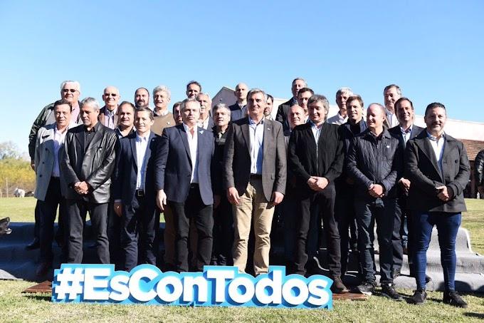 Alberto Fernández se reunió con intendentes del PJ bonaerense