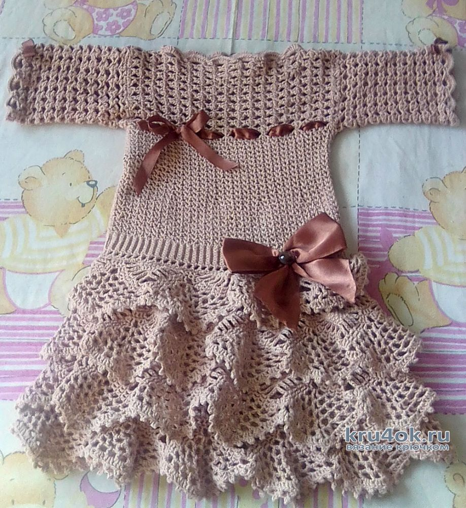 Crochet Patterns For Crochet Baby Dress 2978