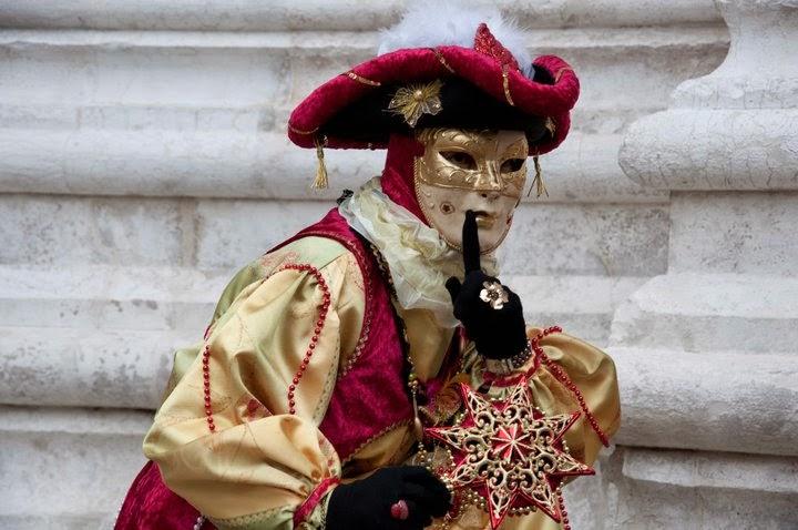 A Mask in Venice