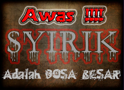 Dosa Syirik