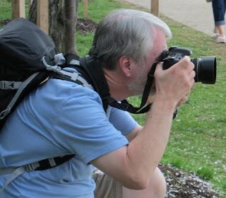 Photographer in Park