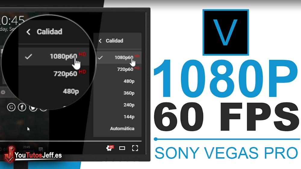 Como Renderizar en Sony Vegas Pro 15 1080p 60FPS - Editar Sony Vegas