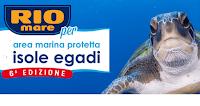 Logo Concorso Rio Mare '' Insieme per le Egadi'' : vinci 129 buoni spesa Coop da 50€