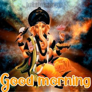good morning ganesh bhagwan photo