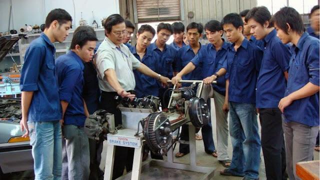 ĐH SP Vĩnh Long: Thông báo tuyển sinh CĐ CHÍNH QUY ngành Công nghệ kỹ thuật cơ khí 2018 tại TP. Hồ Chí Minh