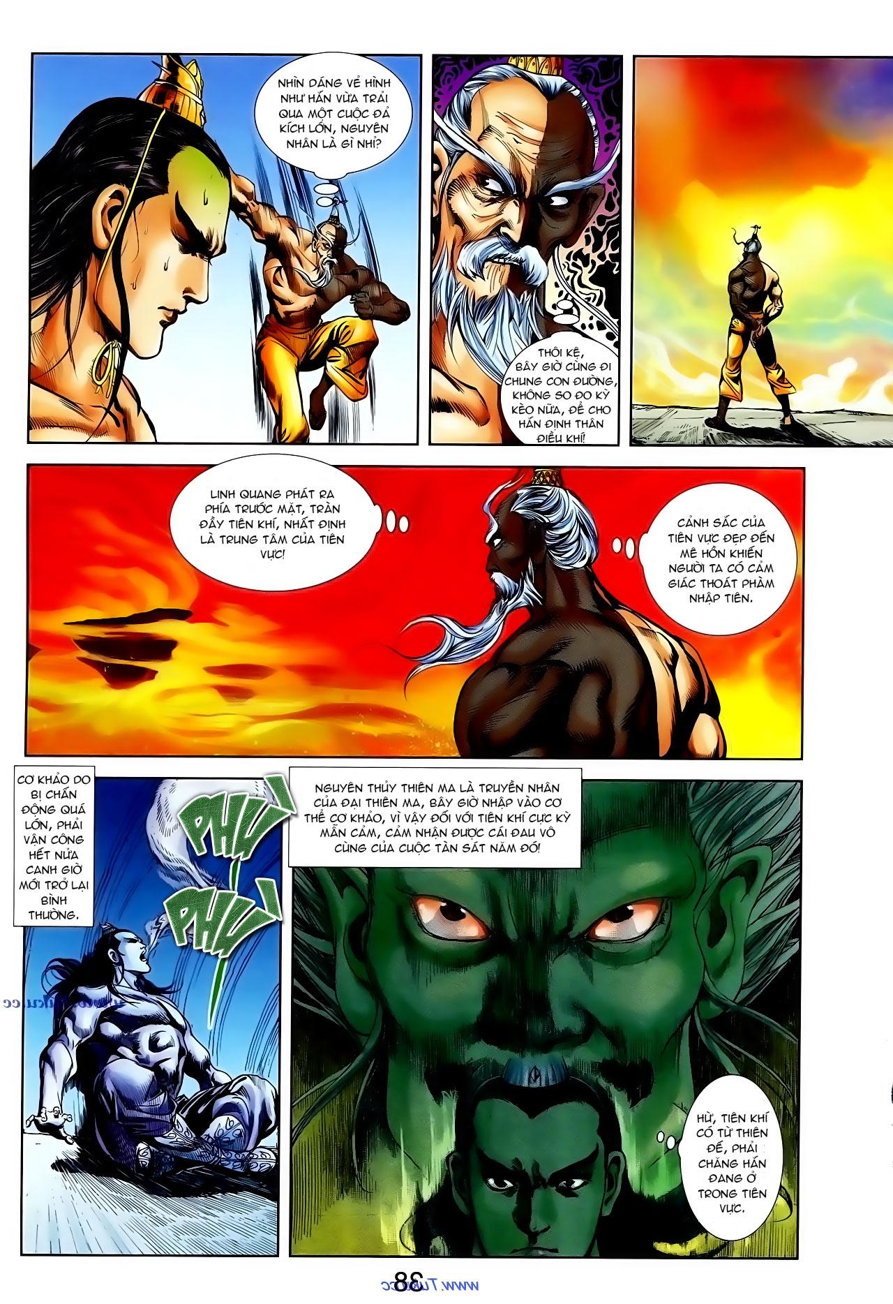 Cơ Phát Khai Chu Bản chapter 100 trang 5